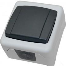 Выключатель MAKEL Nemliyer Plus IP55+ 36064001 серый цвет