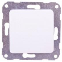 Заглушка резервного гнезда белая OPTIMA Hager 12011502
