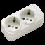 Колодка | кассета El-bi 2 гнезда Z (с заземлением) для электроудлинителя 508-000200-201