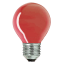 Лампа накаливания Philips Р-45 E27 15W красная, шар