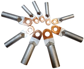 Алюминиево-медные наконечники
