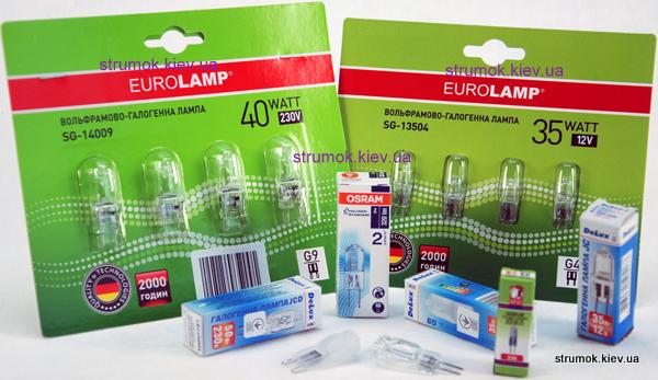 капсульные галогенные лампы