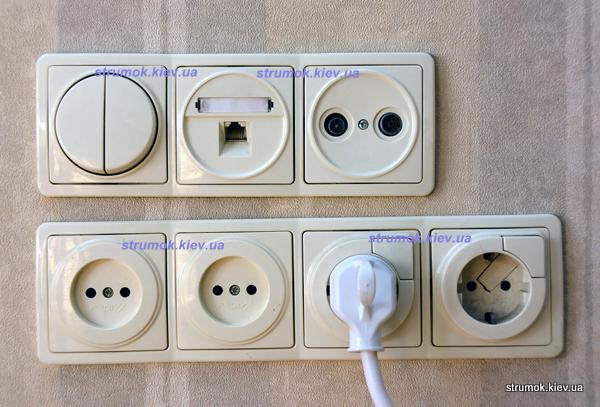 Купить выключатель или розетку скрытой установки в киеве с доставкой
