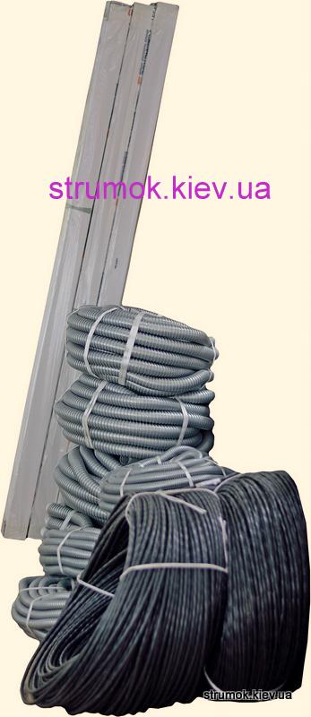 Кабель-канал ПВХ, короб кабельный, кабельный лоток,  гофротруба с протяжкой
